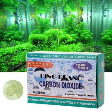 Bakı şəhərində Akvarium tebii bitkileri ucun CO2 tabletleri. 80 eded