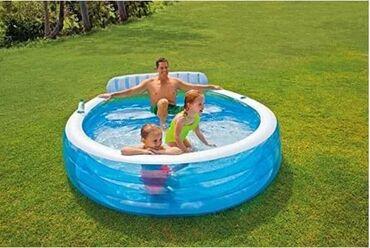 Ostalo | Srbija: Porodični bazen sa klupom7000 rsdPorodični bazen na naduvavanje