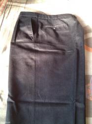 Bakı şəhərində сезонные классические мужские брюки, абсолютно новые. цвет - темно