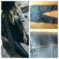 Snizenje pantalone, imitacija kože, veličina xl - Pozarevac