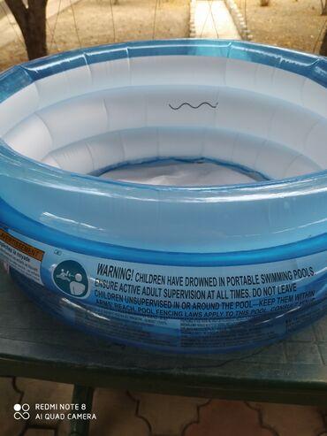 продам бассейн in Кыргызстан | БАССЕЙНЫ: Продаю бассейн выс 30см диам 50см в отлич состояние 300сом