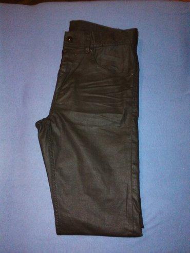 Muske pantalone,crne,slim fit,marka DENIM H&M,velicina S,vrhunski - Nis