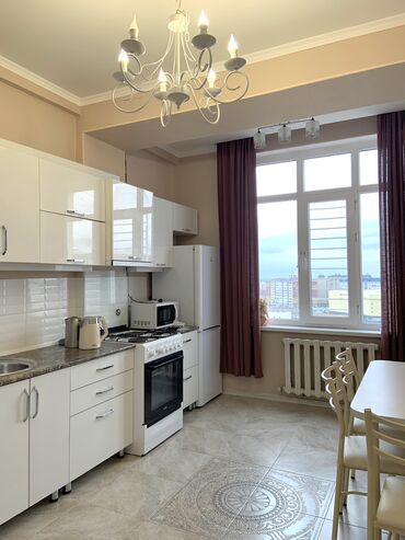 жилой комплекс малина бишкек в Кыргызстан: Сдается квартира: 2 комнаты, 80 кв. м, Бишкек