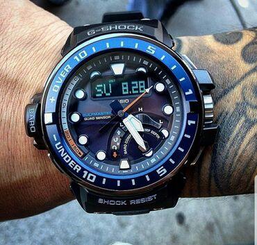 Личные вещи - Кыргызстан: G-shockмодель часов gwn-q1000__функции : компас, альтиметр, барометр