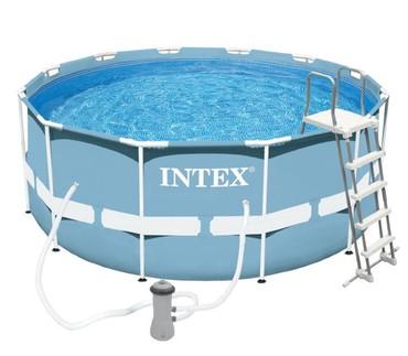 Каркасный бассейн Intex 26718 интересная новинка, диаметр 3,66 метра