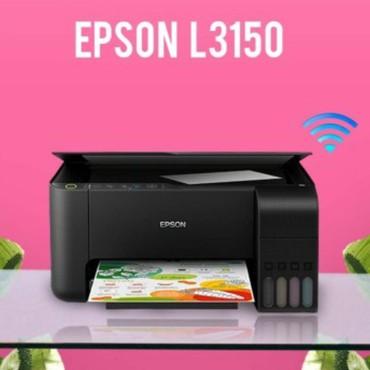 skaner - Azərbaycan: Epson l3150 model printer ve skanerWifiya qosulurTezediQutusunda Say