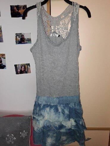 Pamucna haljina - Srbija: Pamucna haljina. Iznad kolena. Velicina M