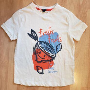 Dečiji Topići I Majice | Sombor: KIABI nova pamucna majica vel 8A (126/131 cm). Kupljena u