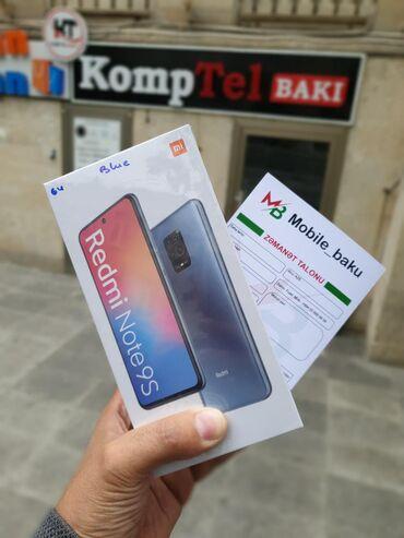 xiaomi-hybrid-pro в Азербайджан: Новый Xiaomi Redmi Note 9S 64 ГБ Голубой