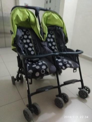 Продаю коляску для двойни (близнецов). в Бишкек
