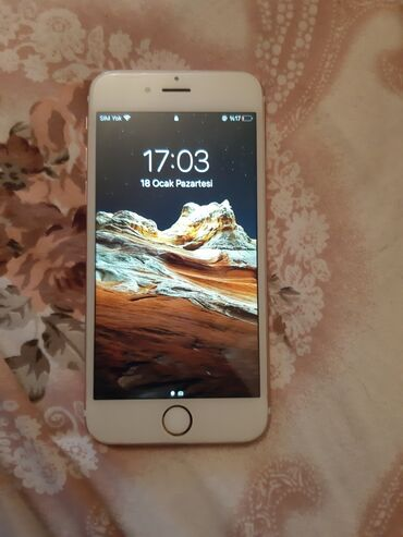 ayfon 5g - Azərbaycan: IPhone 6s 128 GB Cəhrayı qızıl (Rose Gold)