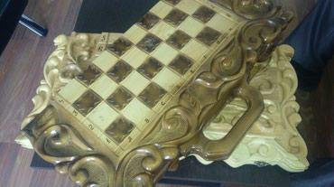 Нарды и шахматы ручной работы в Бишкек