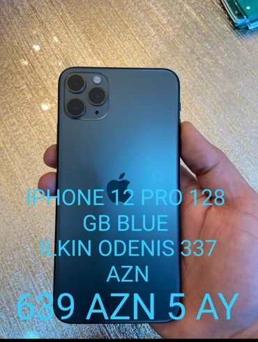 Электроника - Дюбенди: Новый iPhone 12 Pro 128 ГБ Синий
