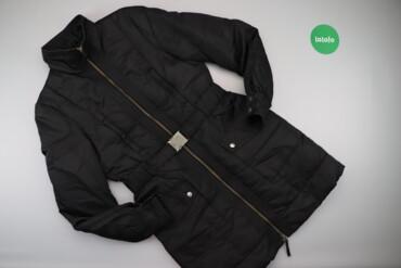 Жіноча довга куртка з паском Sisley    Довжина: 98 см Ширина плечей: 4