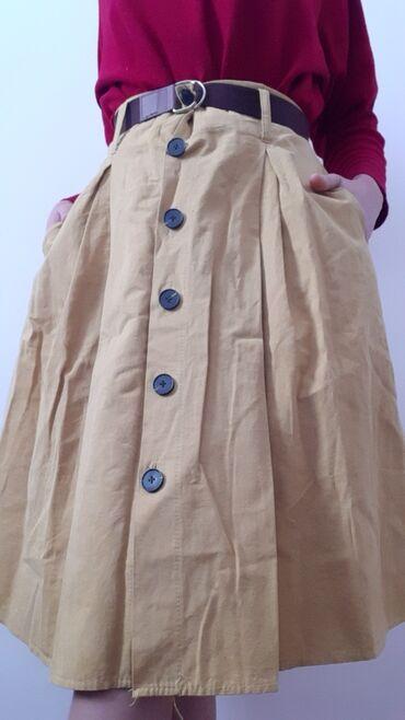 Юбка разлетайка Качествошикарное Ткань джинсовка