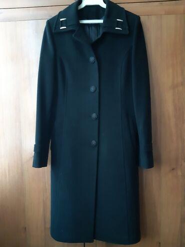 зимние пальто бишкек в Кыргызстан: Пальто кашемировое турецкое в отличном состоянииб/у размер xs,цена