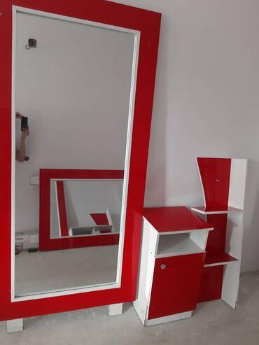 172 объявлений: Зеркала с тумбочкой для салона красоты 3 компоекта в наличии. Комплект