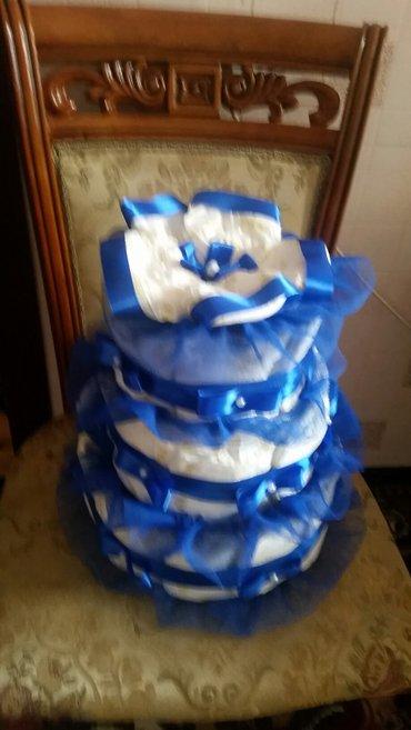 Xırdalan şəhərində Pampers tort