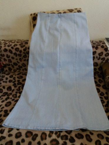 платье с фатиновой юбкой в пол в Кыргызстан: Юбка джинсовая, в пол. б/уокружн . талии 84 окр. бёдер 106 общая