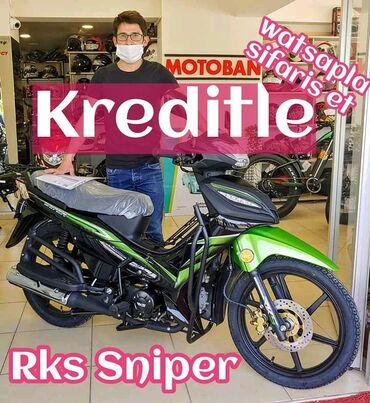 Aprilia Azərbaycanda: Dəyərli müştərilər sizin üçün yeni bir skuter getirdik Rks Sniper50 cc