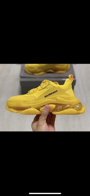 Новые Balenciaga под оригинал, хорошего качества . Желтый цвет -38 р