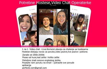 Video chat zene