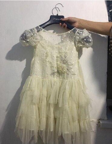 Платье 4,5 лет почти новоедорогое,красивое