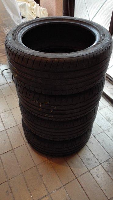 Vozila - Srbija: Dunlop letnje gume 245 45 r18 - komplet od 4 komada. U dobrom