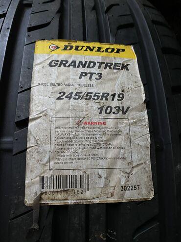 Новая резина лето Dunlop Grandtre PT3