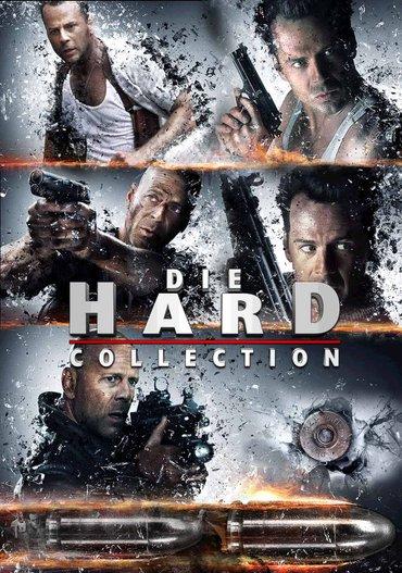 Umri muški  (die hard) - paket svih filmova, sa prevodom - Boljevac