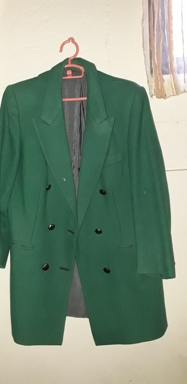 Zeleni kaput...42 prelep zeleni kaputic.obucen par puta...senke na - Loznica