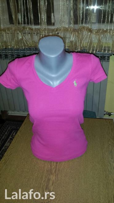 Kosulja-original-pise - Srbija: Original ralph lauren majica, roze boje, velicine s. Pise xs. Ali