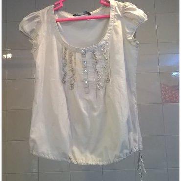 Μπλουζάκι μπεζ Zara - Μέγεθος S  Μεταχειρισμένο αλλά σε καλή κατάσταση