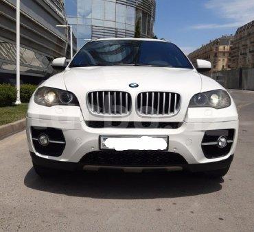 bmw-6-серия-645ci-mt - Azərbaycan: BMW X6 4.6 l. 2010 | 183000 km