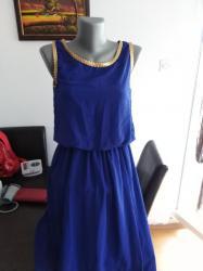 Haljine | Sopot: Plava haljina M/L velicina