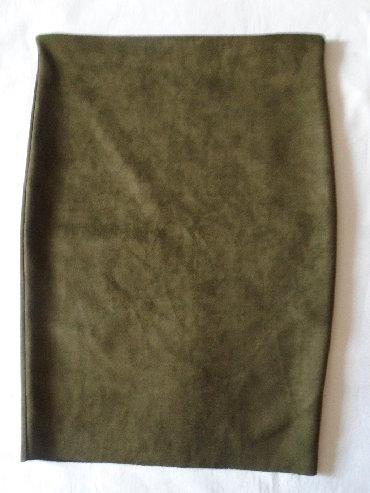 Pencil suknja afroditemodecollection - Srbija: Nova, pencil suknja od materijala nalik na prevrnutu kožu ili pliš