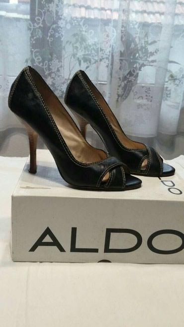 Aldo sandale - Srbija: Crne Aldo sandal-cipele br 38, iako pise na njima 37. Nosene