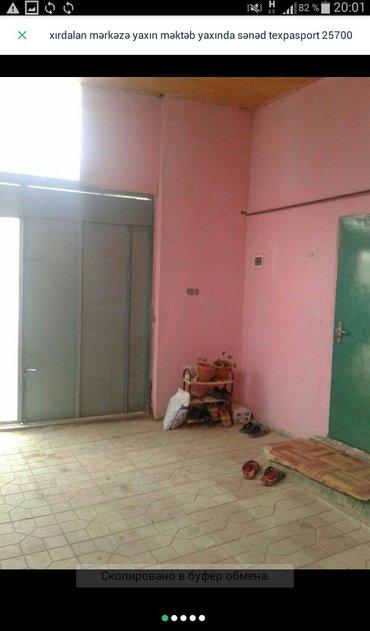 Xırdalan şəhərində Xirdalanda màrkàzdà 2 otaqli tàmirli hàyàt evi tàcili