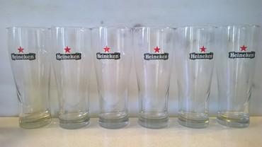6 ποτήρια μπύρας Heineken ( αχρησιμοποίητα ) σε Athens