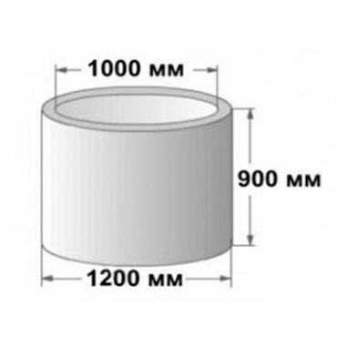 Другая сантехника в Кыргызстан: Предлагаем (жби) кольца железобетонные для септика: доставка с завода