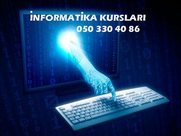 İnformatika kursları İnformatika kursu Kursun proqramına aiddir: İnfor