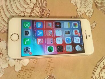 Электроника - Ашагы-Гюздек: Б/У iPhone 5s 32 ГБ Серебристый