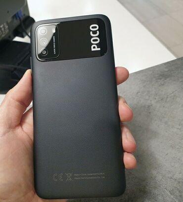 Xiaomi Poco M3 | 64 ГБ | Черный | Гарантия, Сенсорный, Отпечаток пальца