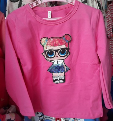 Dečiji Topići I Majice   Sremska Kamenica: LOL svetleće majice za devojčice, veličine od 2-14