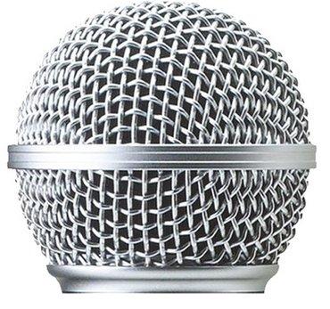 Bakı şəhərində Mikrofon başlığı. setka- sm58 - pg58. senkaku