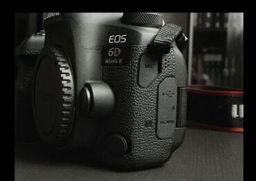 Электроника - Кадамжай: Canon eos 6D mark 2 абалы жакшы 1 батарея сумка зарядник баасы ?оньчот