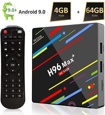 Prodajemsmart tv box H96 max plus.box sam koristio oko pola godine.i
