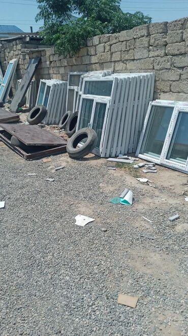 Pəncərələr - Azərbaycan: 120×154 =90 manat 1 eded teze plastik pencere gördukləriniz hazirlanib