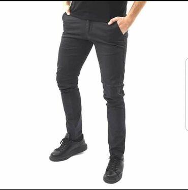 Pantalone do ispokolena - Srbija: Muske pantalone S do 2xl Sa elastinom 2700