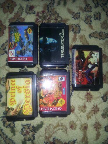 Sega kasetleri biri 40 manat